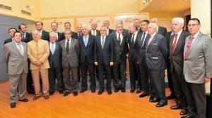 El presidente Griñán en reunión con 22 empresarios de Andalucía