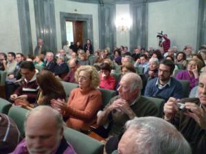 Público asistente a la Mesa redonda