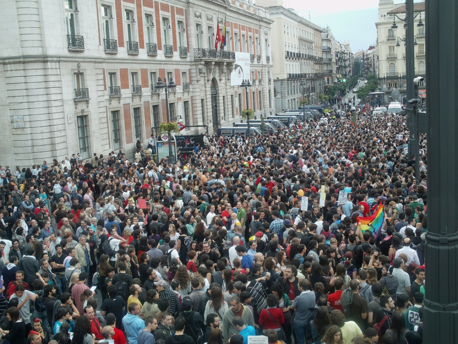 Puerta del Sol, madrid, 16/05/2011. Foto por Álvaro Herraiz San Martín