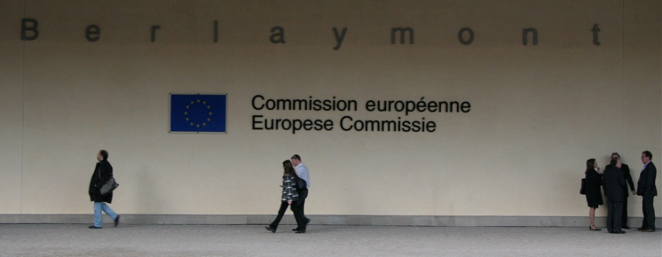 Comisión Europea, Bruselas.  Foto por Patrick Rasenberg