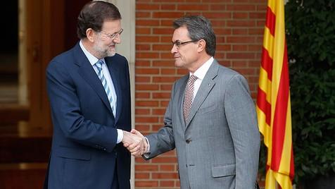 Rajoy y Mas, sept. 12