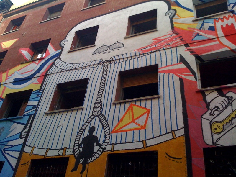 Madrid street art. Foto por riverac