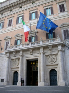 Parlamento italiano. Foto por agenziami
