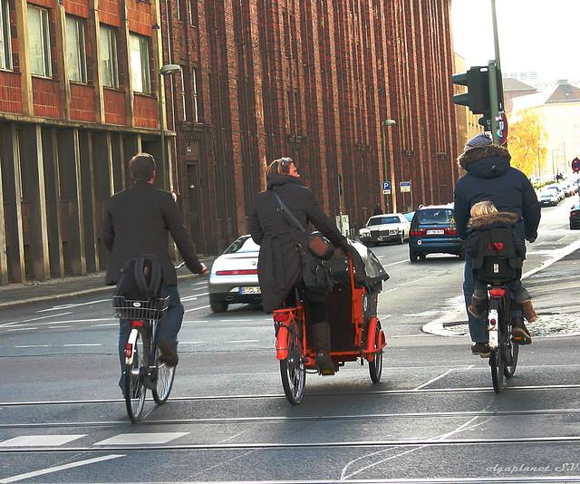Bicicletas por Berlín. Por Olga Planet Photography