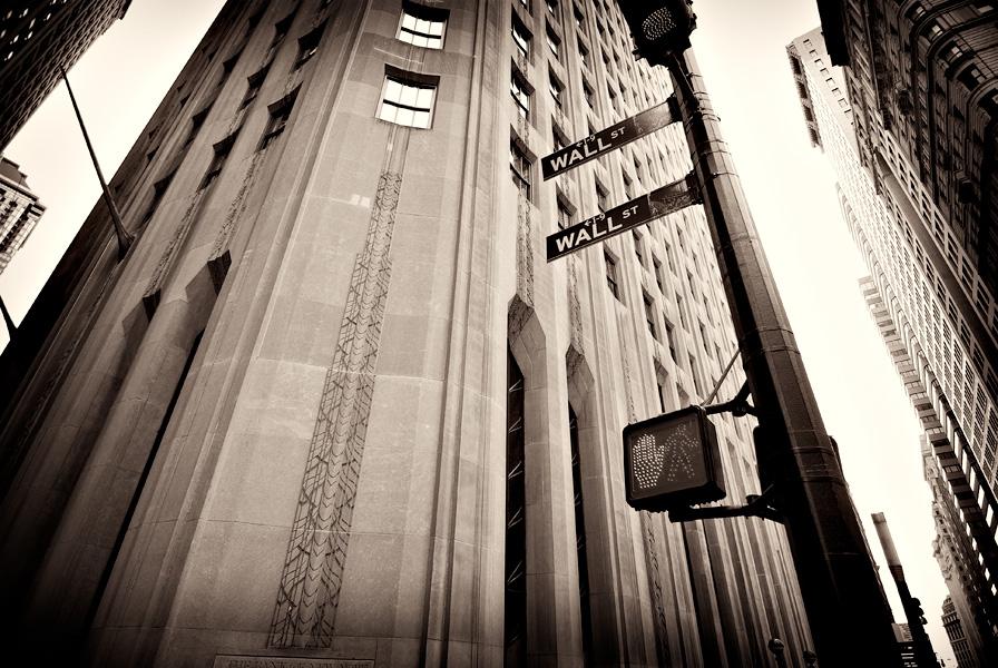 Wall street. Foto por Manu_H