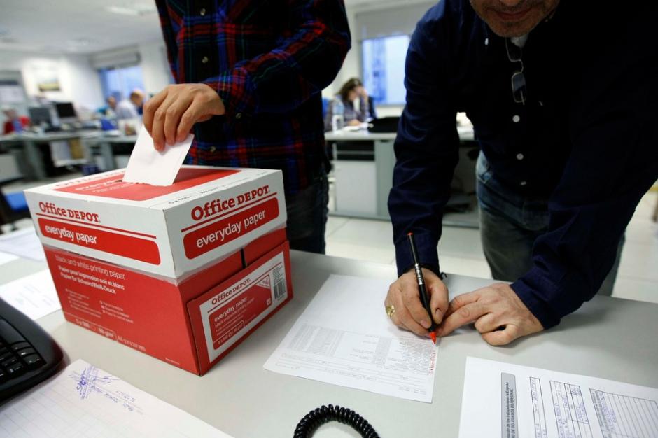 Elecciones sindicales. Foto por Sindicato de Periodistas de Madrid (SPM)