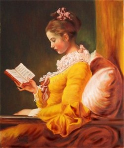 La lectora, de Fragonard